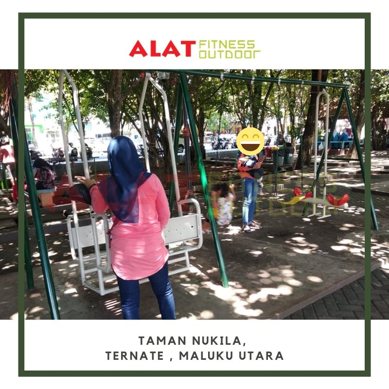 alat fitness outdoor ternate 2017